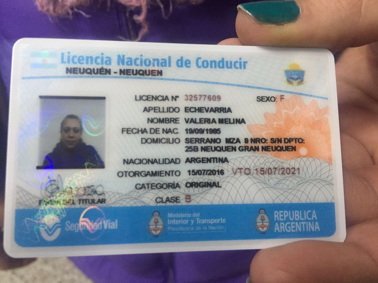 Desde Hoy Se Emite La Licencia Nacional De Conducir En